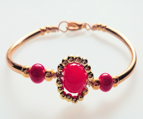 Queen Sheba Red Bracelet