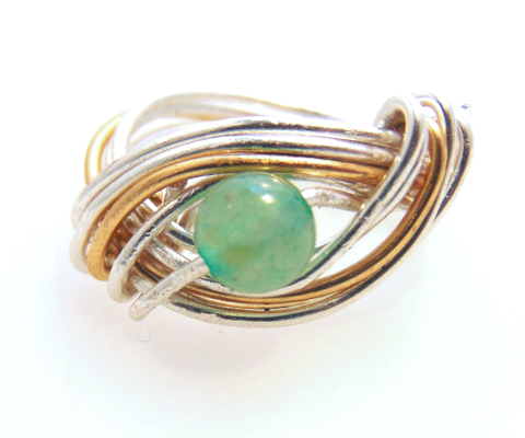 Color me Jade Ring