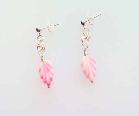 Earrings Pink Passion